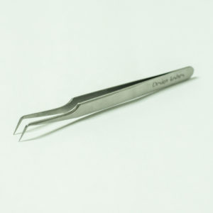 Пинцет L формы для наращивания ресниц