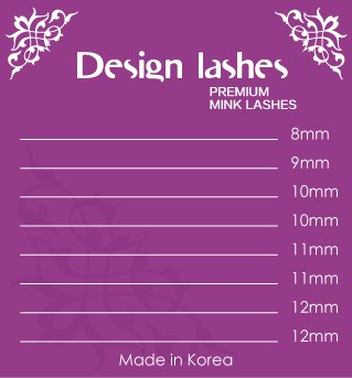 Ресницы Mix (8 линий) Design Lashes