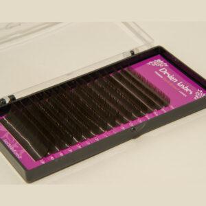 Ресницы Dark brown (16 линий) Design Lashes